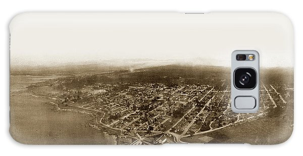 Pacific Grove 1200 From Feet Above Lovers Point And Monterey Bay 1906 Galaxy Case