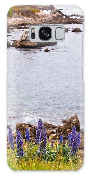 Pacific Grove Coastline Galaxy Case by Melinda Ledsome