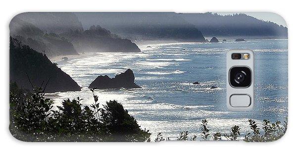 Pacific Mist Galaxy Case by Karen Wiles