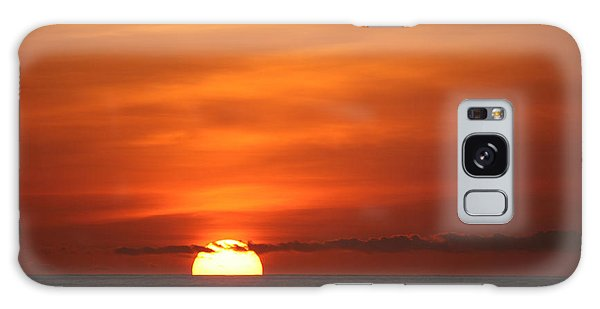 Pacific Nw Sunset Galaxy Case by Jeanette French