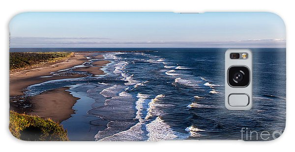 Haybale Galaxy Case - Pacific Ocean And The Columbia River by Robert Bales
