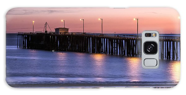 Pacific Ocean At The Pismo Beach Pier  Galaxy Case by Carol M Highsmith