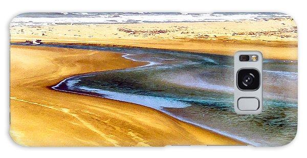 Pacific Ocean Beach Santa Barbara Galaxy Case