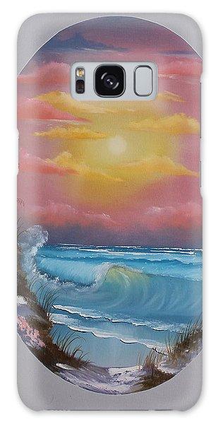 Pacific Ocean Sunset Galaxy Case