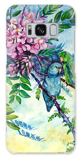 Pacific Parrotlets Galaxy Case