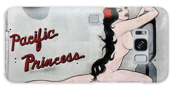 Pacific Princess Galaxy Case by Kathy Barney