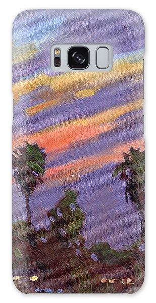 Pacific Sunset 1 Galaxy Case