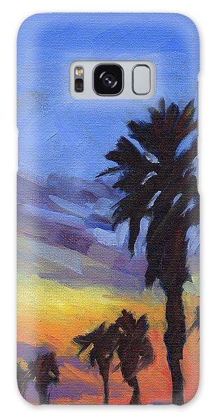 Pacific Sunset 2 Galaxy Case