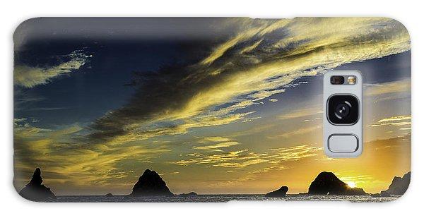 Pacific Sunset Galaxy Case