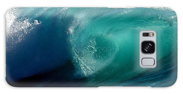 Pacific Wave Galaxy Case by Lori Seaman