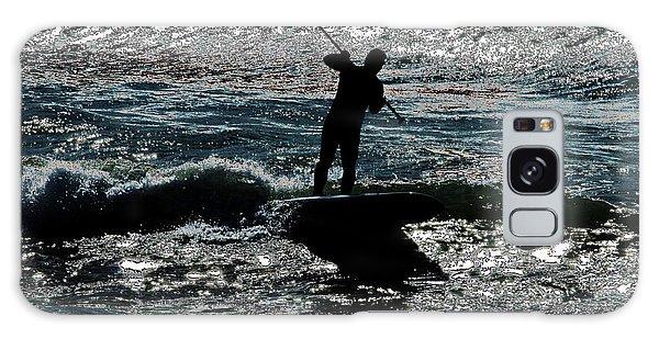 Paddleboard Dreams Galaxy Case