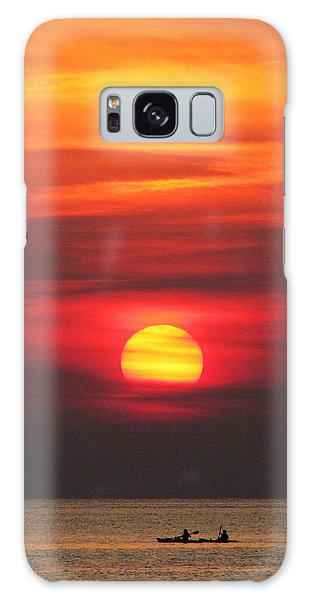 Paddling Under The Sun Galaxy Case by Richard Reeve