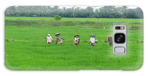 Paddy Field Workers Galaxy Case