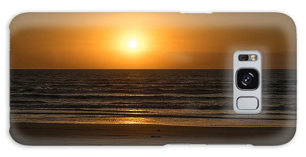 Padre Island National Seashore Galaxy S8 Case - Padre Sunrise by JL Griffis