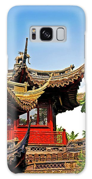 People's Republic Of China Galaxy Case - Pagoda At Yuyuan Garden, Old Town by Miva Stock