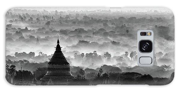 Layers Galaxy Case - Pagoda by Hans-wolfgang Hawerkamp