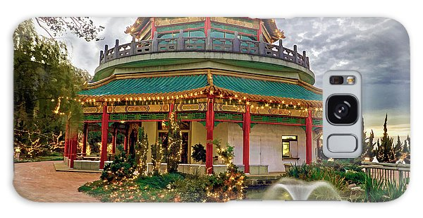 Pagoda In Norfolk Virginia Galaxy Case