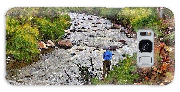 Pagosa Springs Colorado Fisherman Galaxy Case