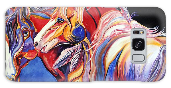 Paint Horse Colorful Spirits Galaxy Case
