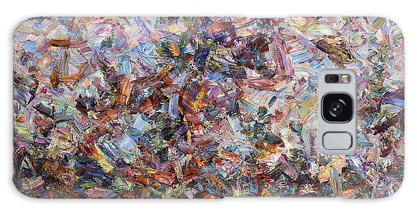 Abstract Expressionism Galaxy Case - Paint Number 42 by James W Johnson