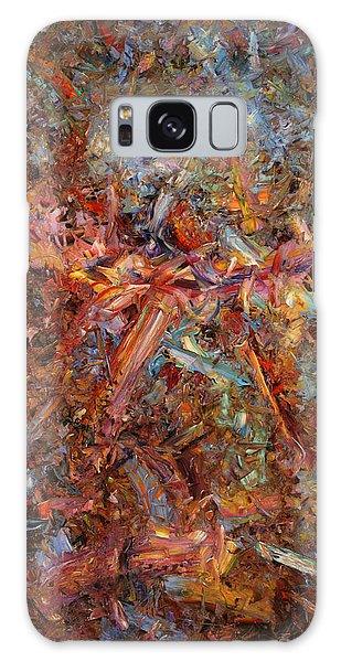Abstract Expressionism Galaxy Case - Paint Number 43 by James W Johnson