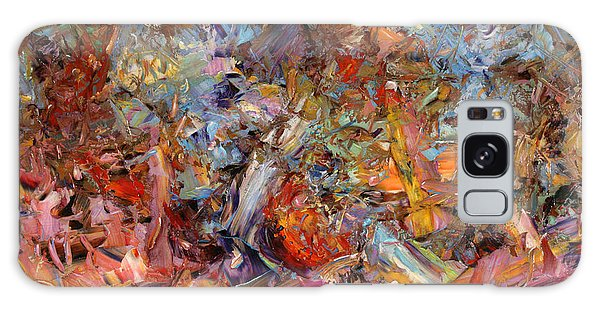 Abstract Expressionism Galaxy Case - Paint Number 43a by James W Johnson