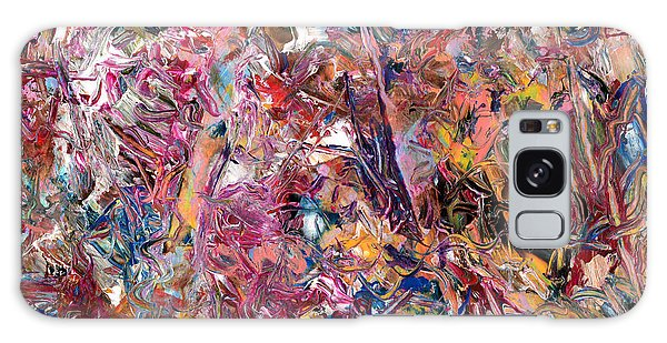 Abstract Expressionism Galaxy Case - Paint Number 49 by James W Johnson