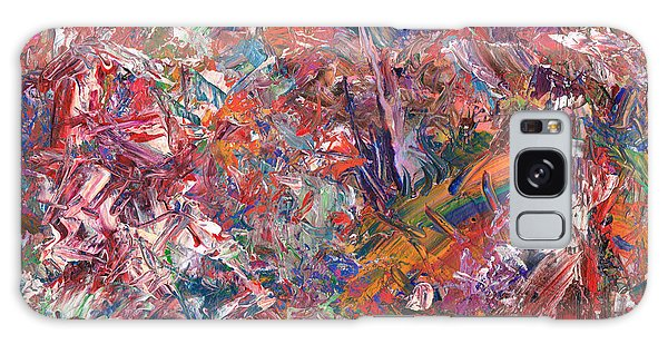 Abstract Expressionism Galaxy Case - Paint Number 50 by James W Johnson