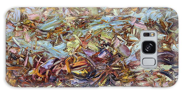 Abstract Expressionism Galaxy Case - Paint Number 51 by James W Johnson