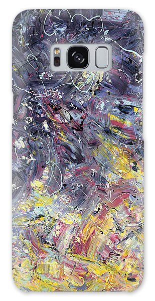 Abstract Expressionism Galaxy Case - Paint Number 55 by James W Johnson