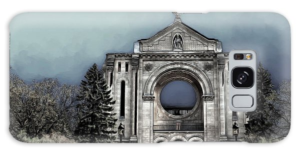 Painted Basilica 2 Galaxy Case by Teresa Zieba