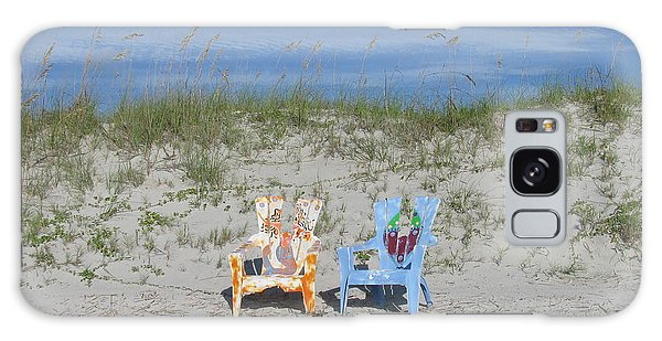 Painted Beach Chairs Galaxy Case