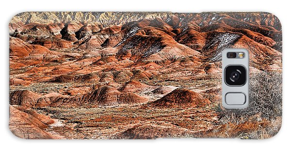 Painted Desert In Winter Galaxy Case