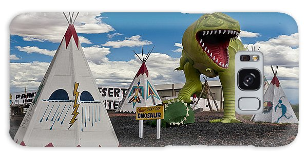 Painted Desert Indian Center  Galaxy Case by Gary Warnimont