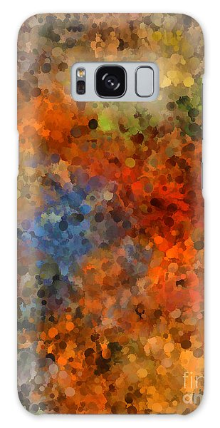 Painted Fall Abstract Galaxy Case by Andrea Auletta