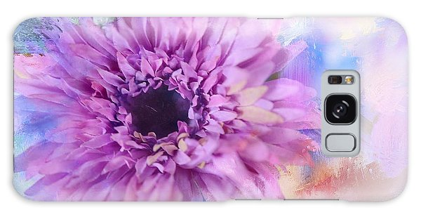 Painted Flower Galaxy Case by Mary Timman