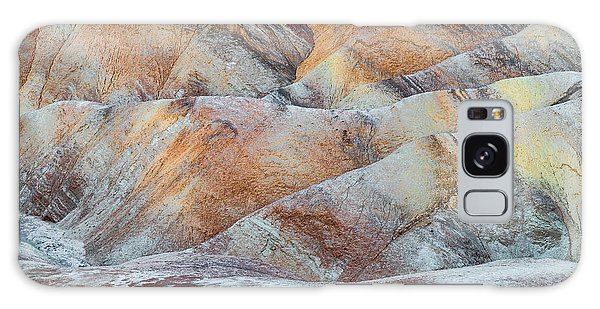 Death Valley Galaxy Case - Painted Hills In Death Valley by Larry Marshall
