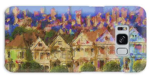 Painted Ladies Galaxy Case by Andrea Auletta