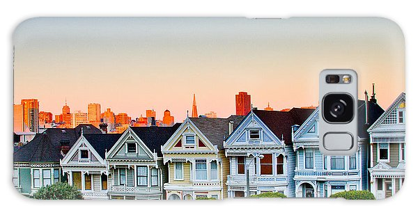 Painted Ladies Galaxy Case by Bill Gallagher
