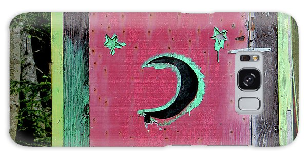 Painted Outhouse Galaxy Case by Art Block Collections