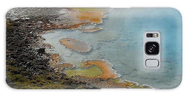 Painted Pool Of Yellowstone Galaxy Case by Michele Myers