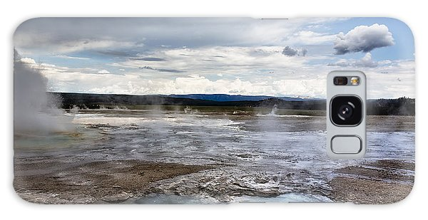Paint Pots Galaxy Case by Belinda Greb