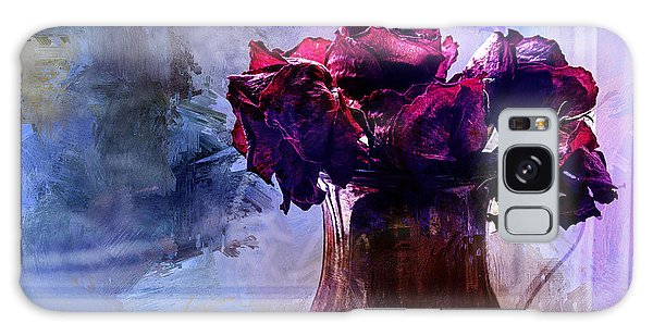 Artful Galaxy Case - Painted Roses In Window by Terry Rowe