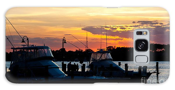 Boynton Galaxy S8 Case - Painted Sky In Boynton Beach Florida by Michelle Constantine