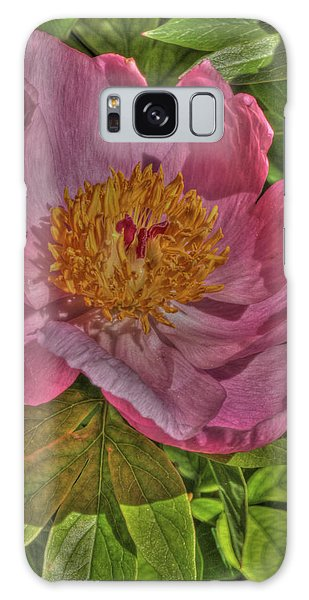 Painterly Peony Galaxy Case