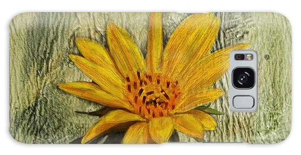 Painterly Sunflower Galaxy Case