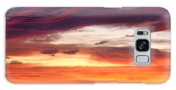 Painterly Sunrise On The Blue Ridge Parkway Galaxy Case