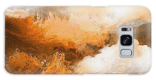 Storm Over The Mountains Galaxy Case by Sherri's Of Palm Springs