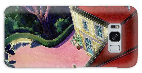 Painting Of A House With A Patio Galaxy S8 Case