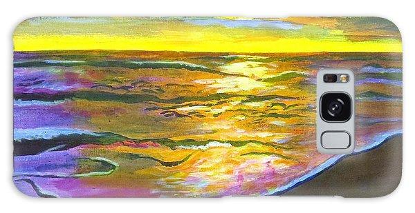 Painting Sanibel Island Beach Galaxy Case